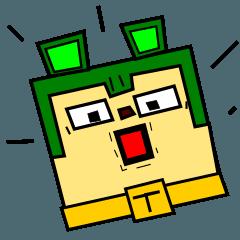 緑のイヌ キューリ