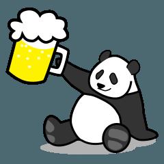 パンダの酒