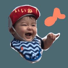 0歳児スタンプ(タクト実写版)