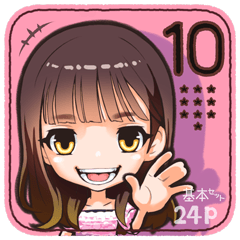 ガルスタ★10 前髪パッツンさん