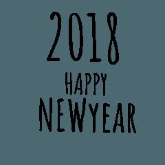 2018年挨拶