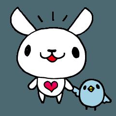 ウサギぽいのとあおいトリっぽい子4