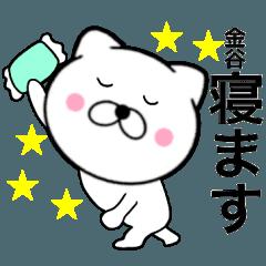 【金谷】が使う主婦が作ったデカ文字ネコ