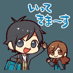 堀さんと宮村くんスタンプVol.1