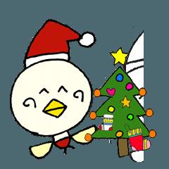 P~吉 冬の生活!クリスマス 新年の挨拶