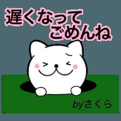 【さくら】が使う主婦が作ったデカ文字ネコ
