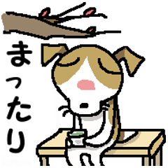 [LINEスタンプ] ジャックさんの冬! (1)