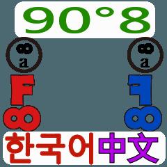 90°8 マンダリン 韓国