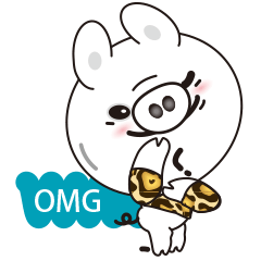 [LINEスタンプ] Milk sticker of the mini-pig (1)