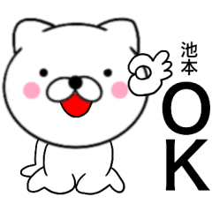 【池本】が使う主婦が作ったデカ文字ネコ