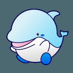 ひと型イルカ 「アクリ」