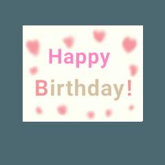 お誕生日おめでとうおめでとう!