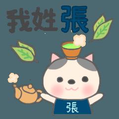 [LINEスタンプ] 張さん専用のスタンプ(中文繁体字版)