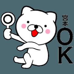 【宮本】が使う主婦が作ったデカ文字ネコ