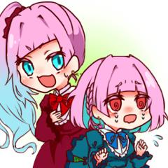 ☆なかよし双子の日常スタンプ☆