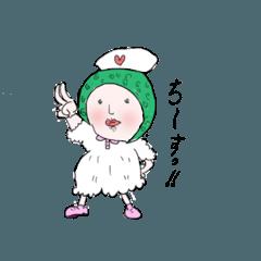 白衣の看護ちゃん