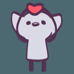 幸せな猫!!(カウントダウン 1.2.3)