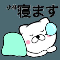 【小林】が使う主婦が作ったデカ文字ネコ