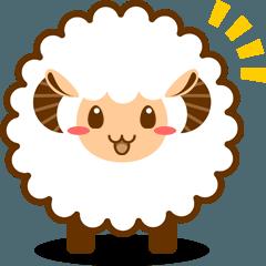 動く!もふもふ羊