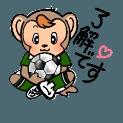 お猿の空くん~サッカーの巻~