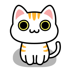UNO CAT No.17 Basic Sticker