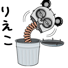 【りえこ】シュールなメッセージ