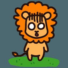 わいいライオン