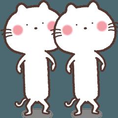 この白ネコ動くよん!2