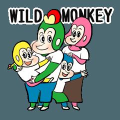 wild monkeyファミリーの日常