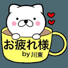 【川東】が使う主婦が作ったデカ文字ネコ
