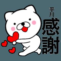 【平川】が使う主婦が作ったデカ文字ネコ