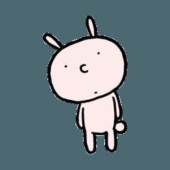 [LINEスタンプ] うさぎのモディ