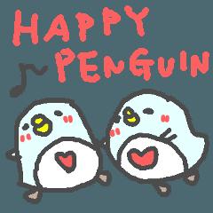 英語の幸せペンギンさん2