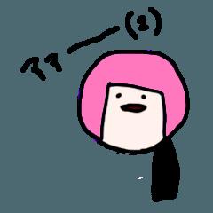 カラフルののちゃんスタンプ(2)