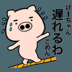 【けーちゃん】が使う 関西弁ブタ