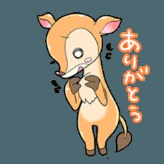 動物キャラ占い 子鹿