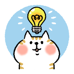 [LINEスタンプ] 気持ちを察するネコ
