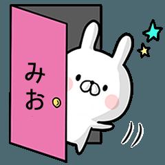 【みお】専用名前ウサギ