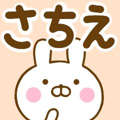 ☆さちえ☆が使う名前スタンプ