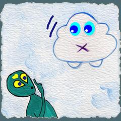 BaBaGoNow雲の車と一緒に旅行する (5-1 J)