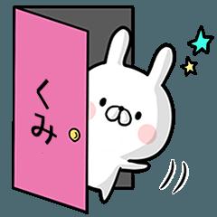 【くみ】専用名前ウサギ