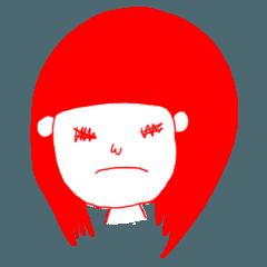 怒りと悲しみのスタンプ