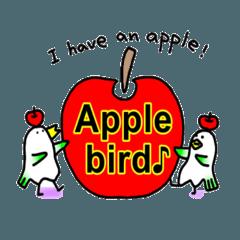 りんご文鳥