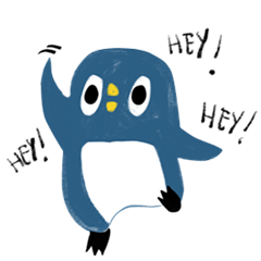 [LINEスタンプ] Kevin, the stupid penguin