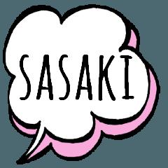 【SASAKI】専用スタンプ