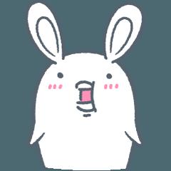 [LINEスタンプ] よくつかう ぶさいくウサギ (1)